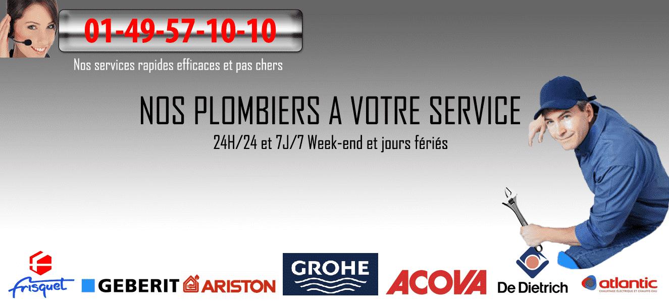 plombier montreuil 93