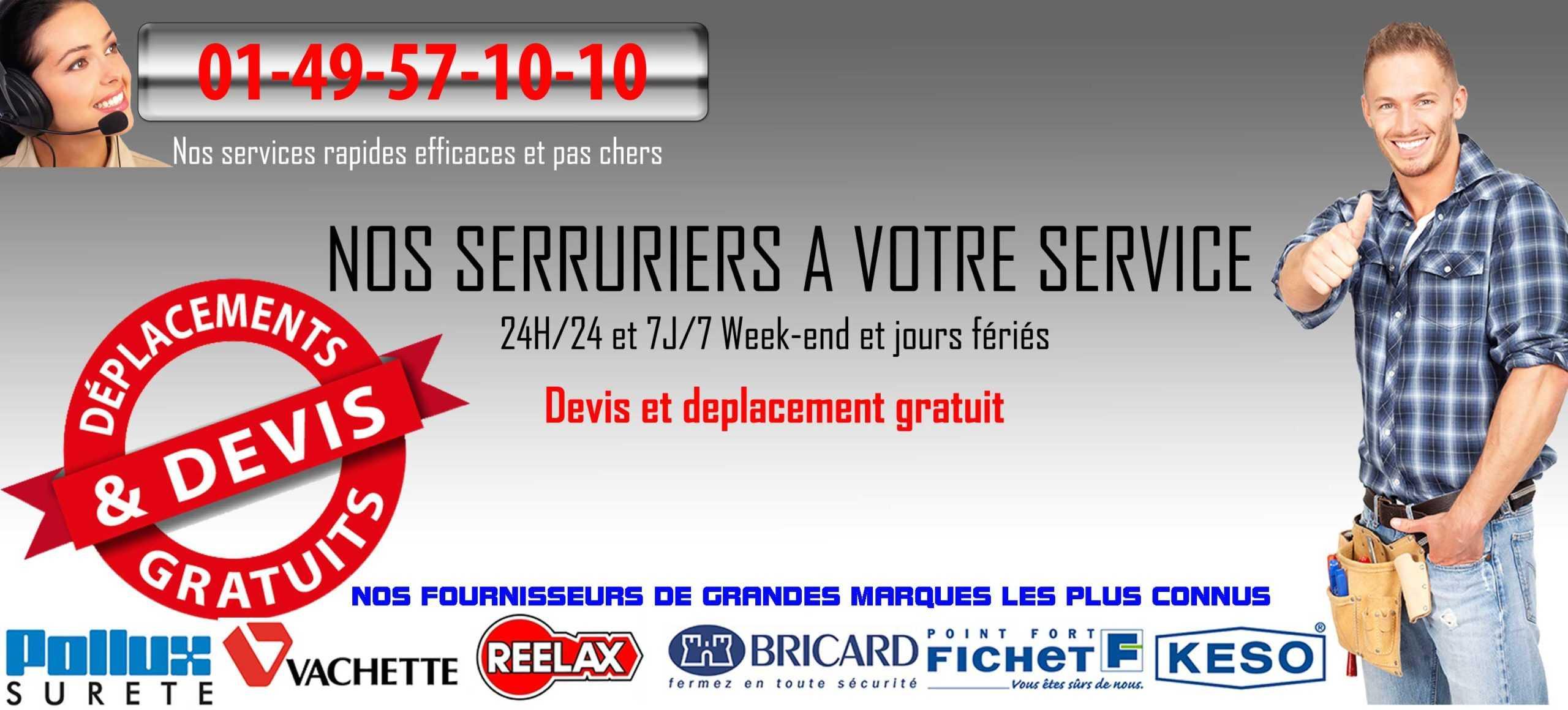 serruriers île de France chambly 60230